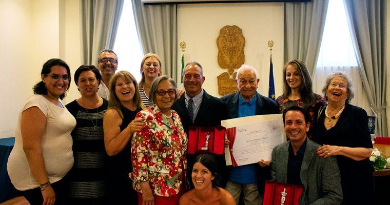 L'agriturismo Trigna ritira il premio 'Azienda più longeva e di successo'